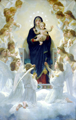 bouguereau QueenoftheAngels 250